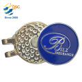 Fashion And Elegant Design Metal Metal Golf Hat Clip Factory
