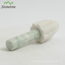 Natural Real White Marble Lemon Juicer, Lemon Squeezer, Lemon Mill