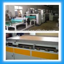 PUR máquina de laminación de palo de fusión en caliente / máquina de laminado de alto brillo de rodillos /