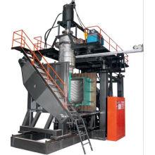 Fabrication d'une machine de moulage par soufflage par extrusion de barrage routier