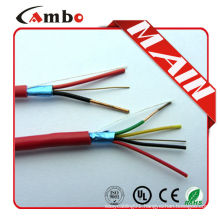 High quality 75 degree new pvc jacket 1000ft Red FPL FPLR red fire alarm cable