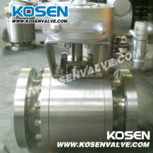 Alto desempenho 3 peças de válvulas de esfera de aço forjado