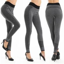 Pantalones de gimnasio de secado en seco de fábrica Pantalones de gimnasio de ejercicio en caliente personalizadas al por mayor ajustados