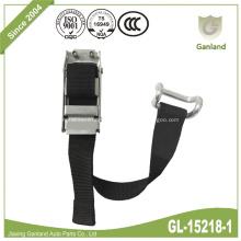 Boucle de centrage de tendeur de ceinture en acier avec crochet