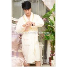 100 % Polyester Baumwolle Paare Hotel Knie Länge Bademantel aus China