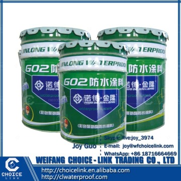 for swimming pool single-part moisture-cured PU waterproof coating