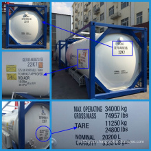 2015 Hot Selling Cryogenic Liquid Tank Container (SEFIC-T75)