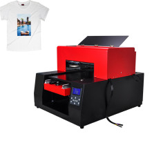 Flatbed Tshirt Printer met 3d foto-effect
