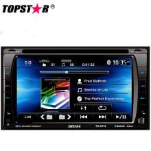 Lecteur DVD de voiture double DIN 2DIN de 6,2 pouces avec système Android Ts-2012-1