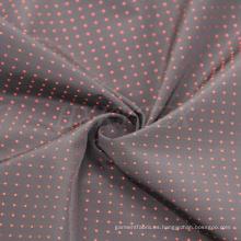Memoria poliester tejido de punto Dobby para chaqueta de Men′s
