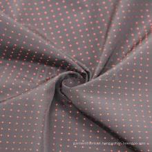 Tecido de poliéster memória com DOT Dobby para jaqueta Men′s