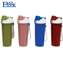 2017 reusable hot and cold plastic children water bottle