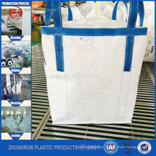 Single trip use pp fibc jumbo bags for steel ball transport , Cargo bulk bags