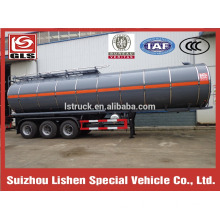 Rock wool insulated tank semi-trailer