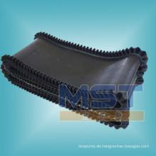 Mustergummiförderband für den vertikalen Einsatz
