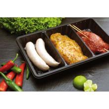 Встроенные давление Термоформовочные ПП/Пэт/Cpet лотков кухонный комбайн использовать в микроволновой печи Сделано в Китае