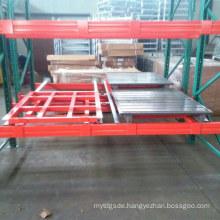 Push Back Rack Steel Racking Warehouse Shelf