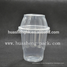 Hot Sale Cheap Plastic Clear 8oz Disposable Cup with Lid Plastic