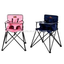 Niceway Segurança cadeira do bebê personalizado dinning colorido bebê cadeira dobrável de alimentação para o bebê