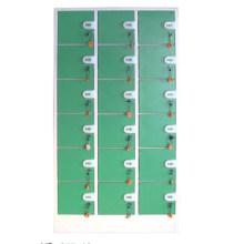 Armario de monedas duradero de 18 puertas para almacenamiento