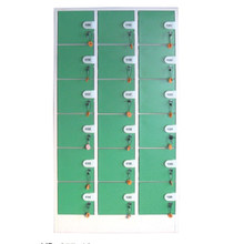 Durable 18 Doors Coin Locker for Storage