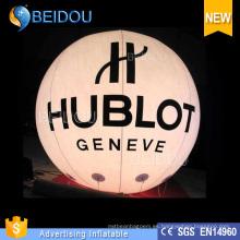 Iluminación Hélio RC inflables dirigible dirigible grandes globos de publicidad LED
