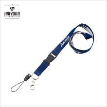 High Quality Cheap Price Custom Logo Flat Thick Woven Lanyard