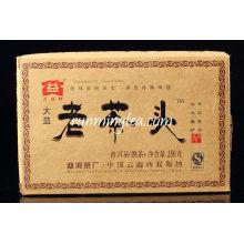 """2009 Menghai """"Lao Cha Tou"""" Tube Pu Pu Er (901 lot) thé puer Thé Pu'er Thé Pu-erh Puerh 250g / brique"""