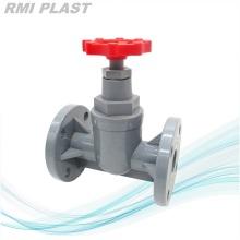 Industrial Globe Valve CPVC DIN PN10