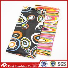 Bolso de cordón de impresión de tela de microfibra