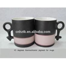 Pigmento termocrômico de 45 graus para cerâmica canecas