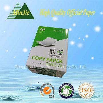 Copy Paper A4 80GSM 100% Virgin Wood Pulp Super White Type Copy Paper