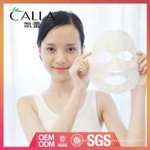 vente chaude et feuille de masque de visage de boue propre de haute qualité OEM