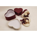 Heart-Shaped Cloth Flower Wedding Gift Box
