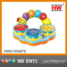 Hot Sale B/O baby toy drum with music educational musical instruments from china