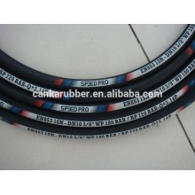 High pressure hydraulic rubber hose/fittings R1AT / 1SN / r1