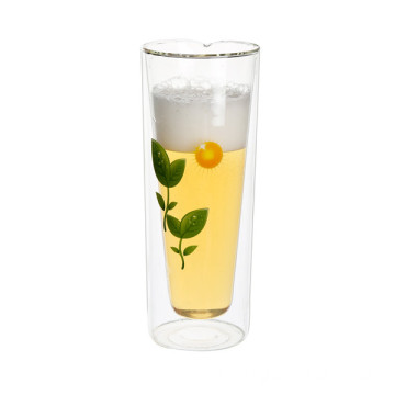 500ml Beer Glass with Logo