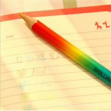 madeira multi 4 cor em 1 lápis de chumbo