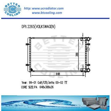 Radiateur utilisé pour VW