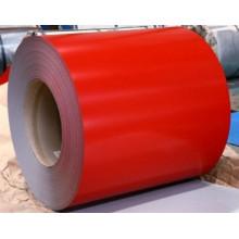 Bobina de acero Color rojo para la construcción de techo (SC-003)