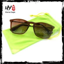 Estuche de gafas de microfibra personalizado ecológico, estuche de gafas personalizado