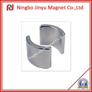 Arc NdFeB Permanent Magnet with Pair Magnetised