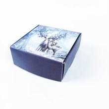Caja de regalo de embalaje de papel recubierto pequeña