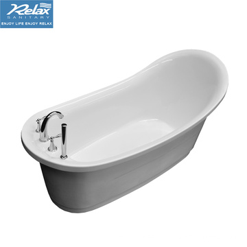 Simple Acrylic freestanding bathtub
