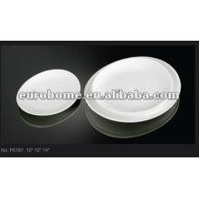 Placas de porcelana fina plana Eurohome P0187