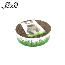 Pet products Private label pet products cat toys cardboard /box Cat scratcher cat scrating post RCS-8004