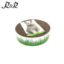 Produtos para animais de estimação Private label pet products gato brinquedos papelão / caixa Cat scratcher gato scrating pós RCS-8004
