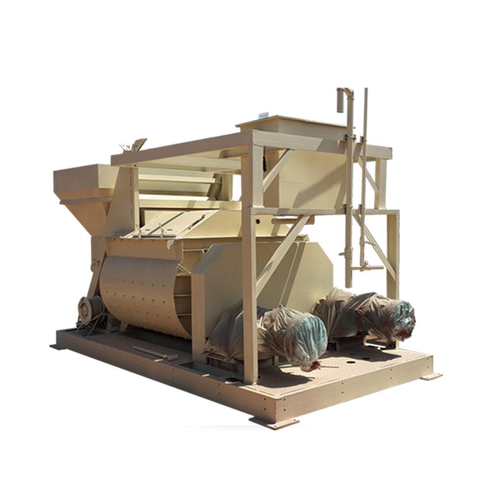 js series twin-shaft forced mixer