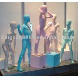 kid's display mannequin ,children mannequin