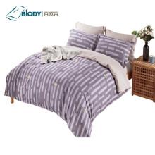Комплект постельного белья из 100% полиэстера с принтом
